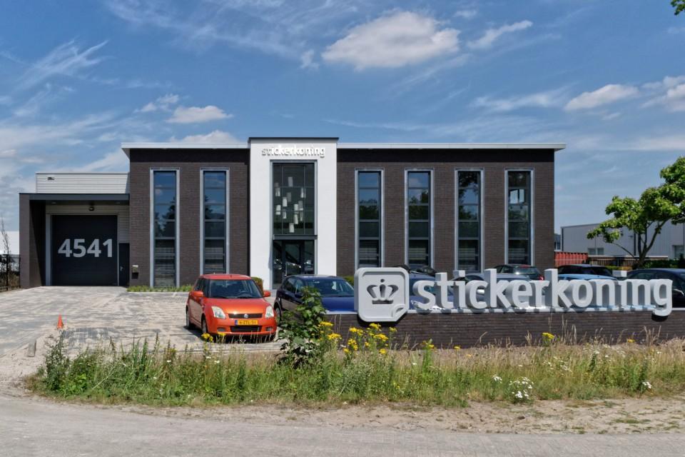 Stickerkoning kantoor Veldhoven 02